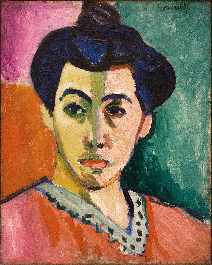 Henri Matisse - Portrait of Madame Matisse (The Green Line)