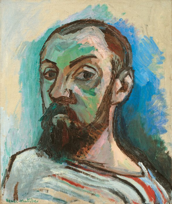 Henri Matisse Self-Portrait in a Striped T-shirt