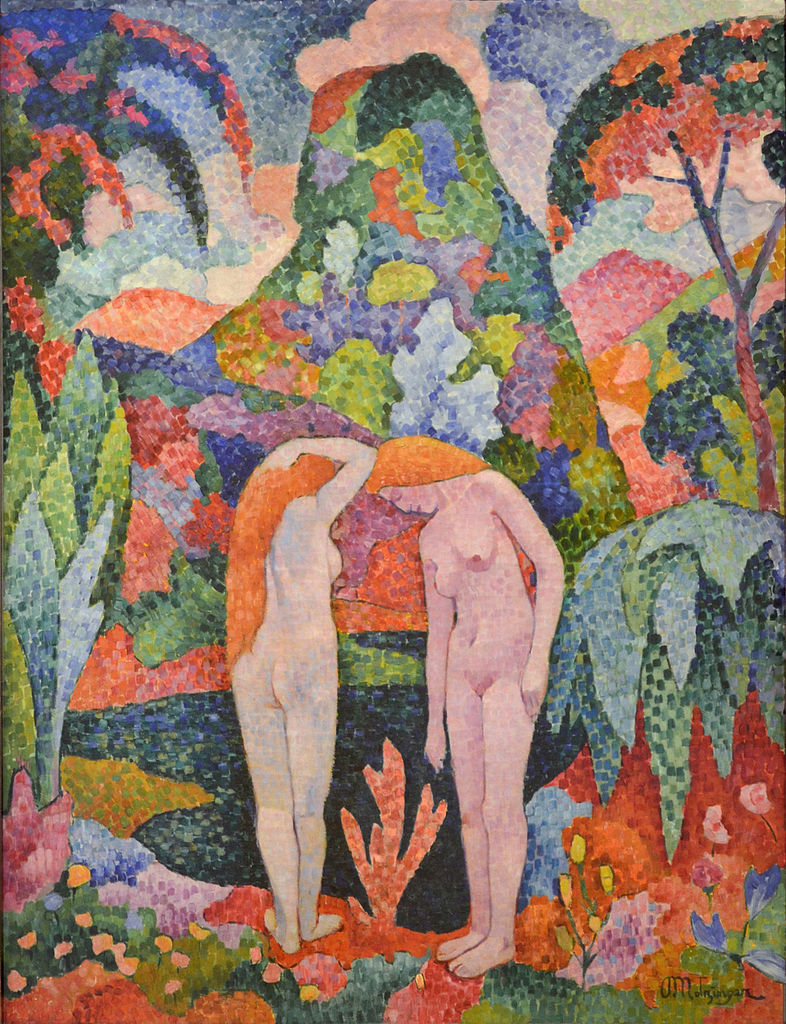 Jean Metzinger – Two Nudes in an Exotic Landscape