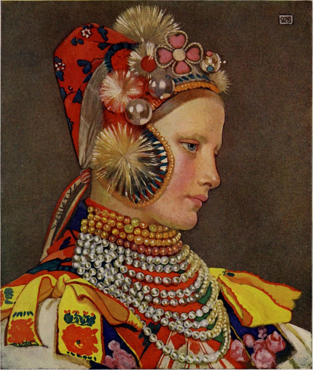 Marianne Stokes – Hungarian portrait