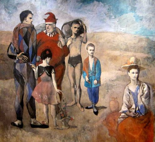Pablo Picasso - Family of Saltimbanques