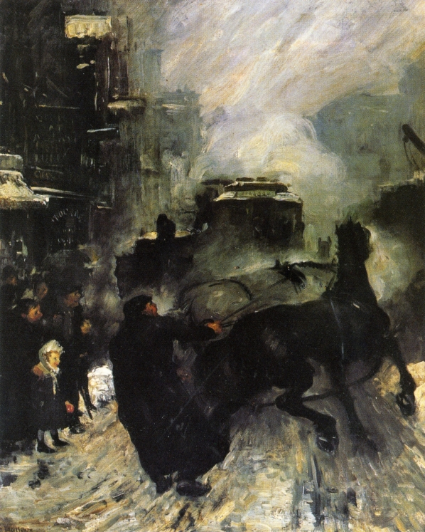George Bellows – Steaming Streets