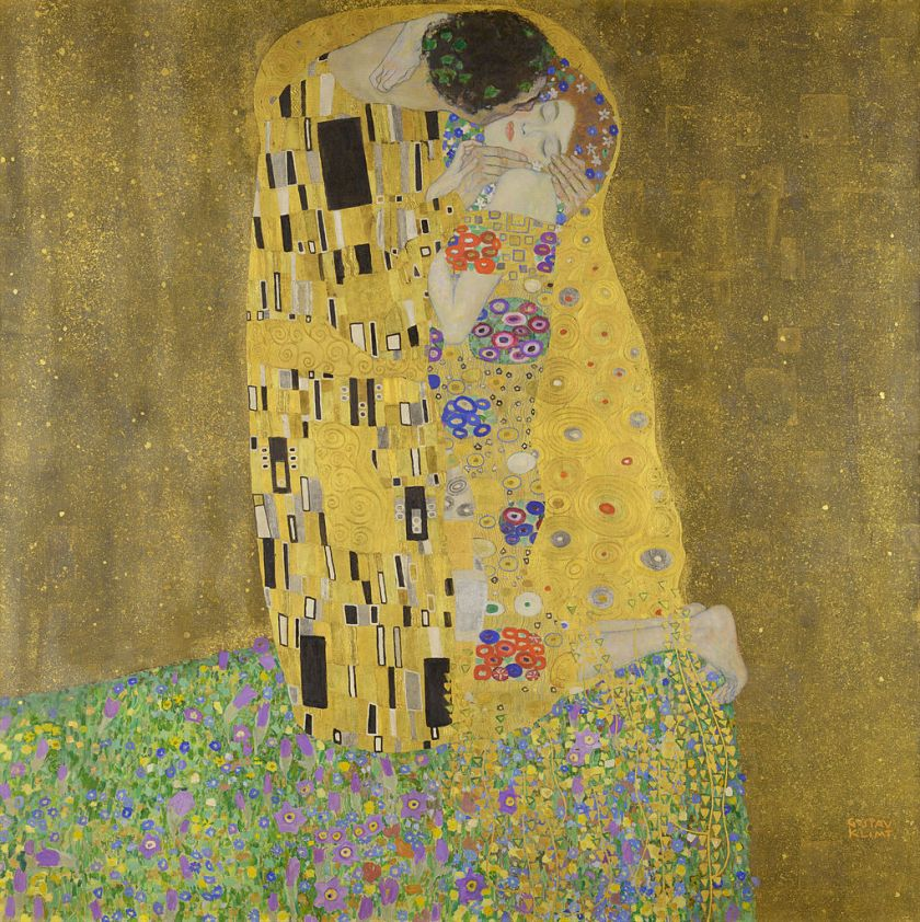 Gustav Klimt – The Kiss