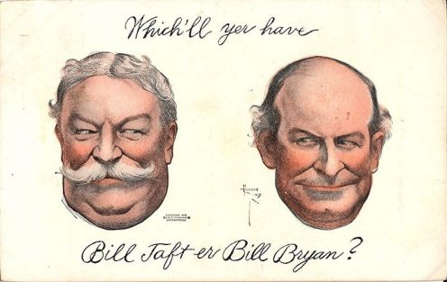 November 3 – Republican candidate William Howard Taft defeats William Jennings Bryan, 321 electoral votes to 162, in the United States presidential election
