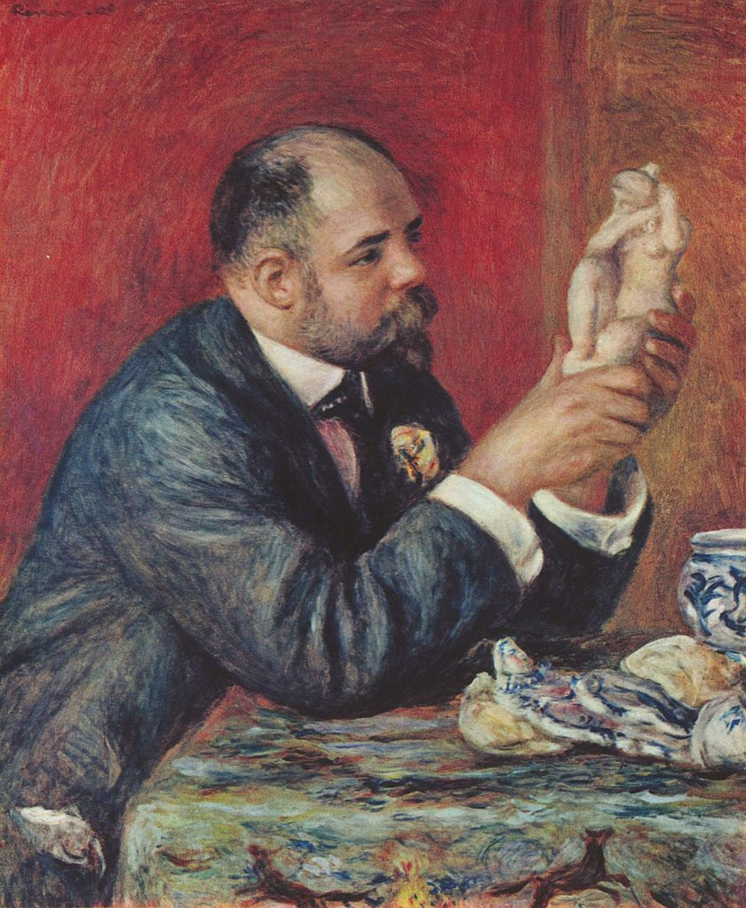 Pierre-Auguste Renoir – Portrait of Ambroise Vollard