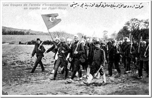 April 13 – A countercoup begins in the Ottoman Empire.