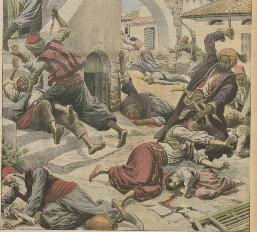 April 14 – Ottoman Turks kill 15,000–30,000 Armenian Christians, in the Adana Vilayet