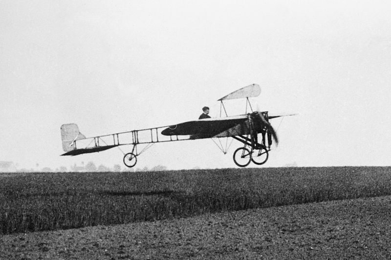 July 25 – Louis Blériot is the first man to fly across the English Channel (thus a large open body of water) in a heavier-than-air craft