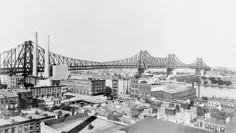 March 30 - The Queensboro Bridge was opened to the public, linking Queens to Manhattan