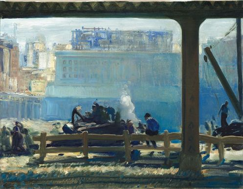 george bellows - blue morning