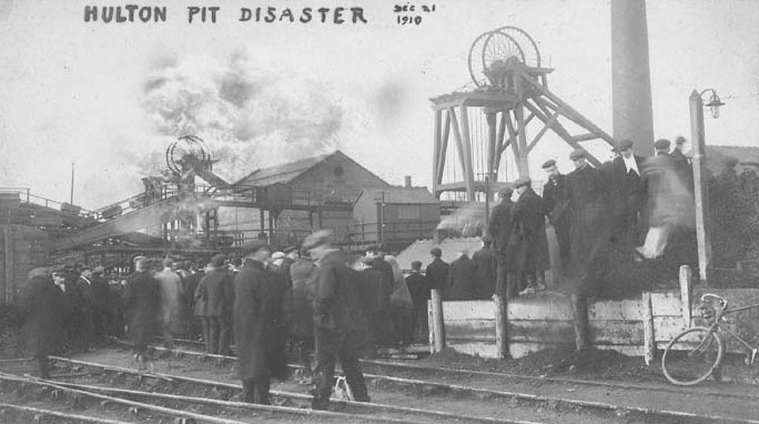 December 21st - 360 British coal miners are killed in an explosion at the Hulton Colliery Company, near Bolton. The blast and the subsequent filling of the mine with carbon monoxide kill all but three people in the pits