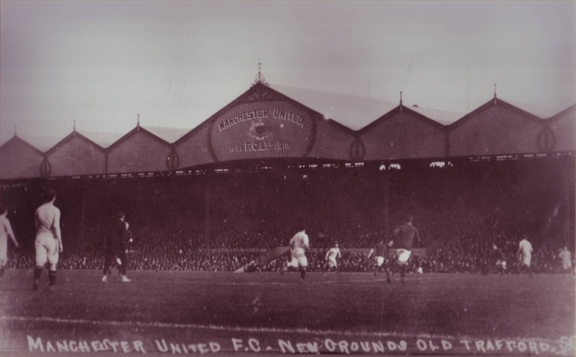 February 19th - Old Trafford, the stadium for Manchester United, is opened. A crowd estimated at 80,000 watch as the Red Devils lose to visiting Liverpool F.C., 4–3