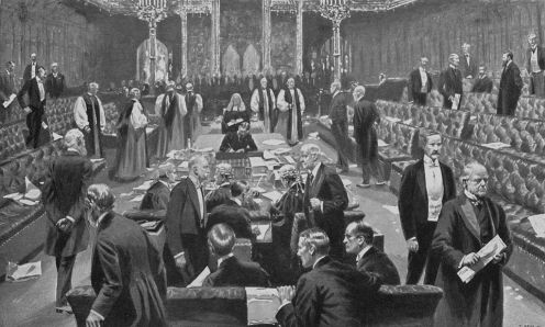 August 11 - Britain's House of Lords approves limits on its power with the Parliament Act