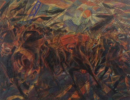 Carlo Carrà – The Funeral of the Anarchist Galli