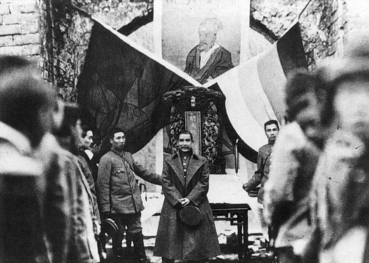 December 29 - In Nanjing, Dr Sun Yat-Sen is elected the first President of the Republic of China by 16 of the 17 provincial representatives there. He takes office on January 1.