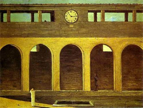 Giorgio de Chirico - Enigma of the Hour