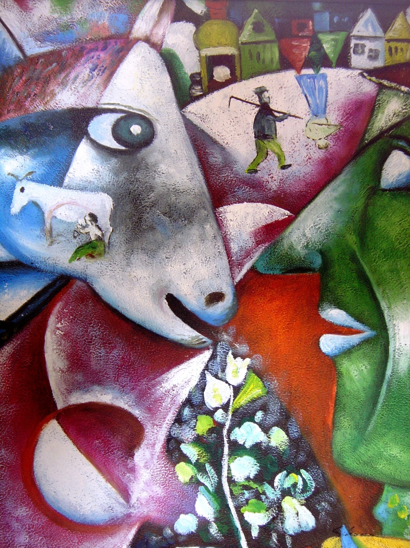 Marc Chagall – I and the Village