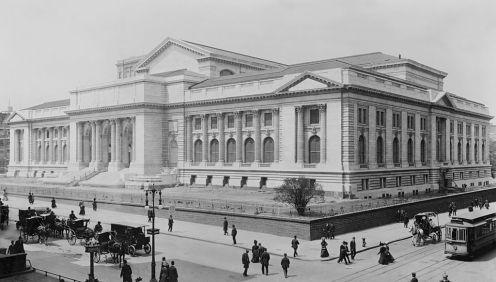 May 23 - New York Public Library is dedicated.