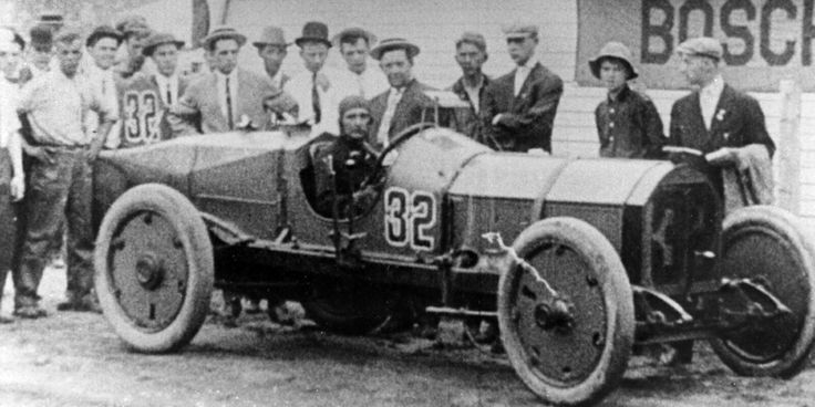 May 30 - Ray Harroun wins the very first running of the Indianapolis 500 automobile race, driving car number 32, a Marmon Wasp.