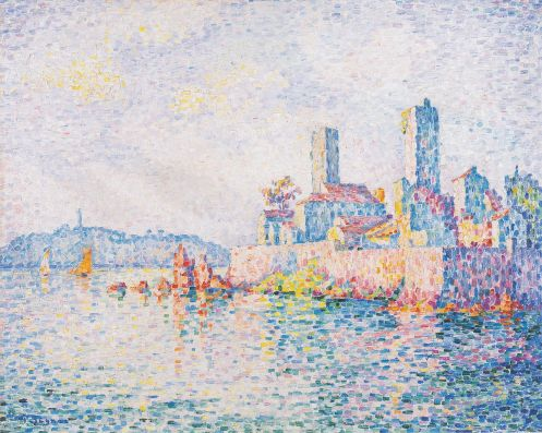 Paul Signac – Antibes the towers
