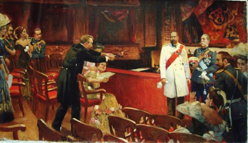 September 14 - Pyotr Stolypin, the Prime Minister of Russia, is shot in the stomach while attending the opera in Kiev. He dies of his wounds four days later.