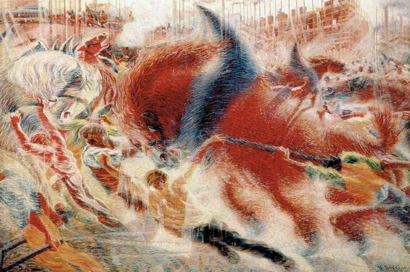 Umberto Boccioni – The City Rises
