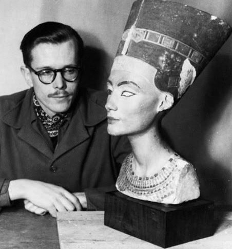 December 6 - In excavations at Tell al-Amarna in Egypt, the Nefertiti Bust is unearthed, intact, after a burial of 32 centuries.
