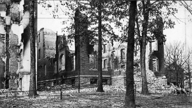 November 29 - The University of Maryland is destroyed by fire