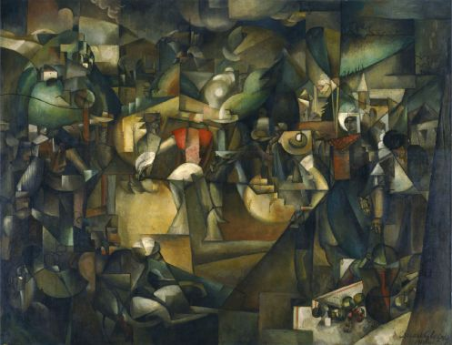 Albert Gleizes - Le Dépiquage des Moissons (Harvest Threshing)