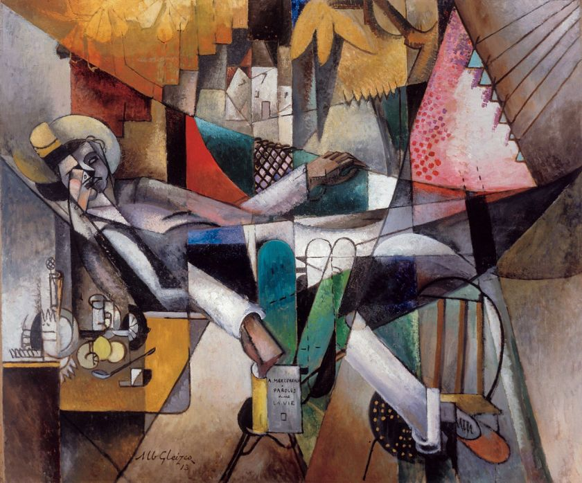 Albert Gleizes - Man in a Hammock