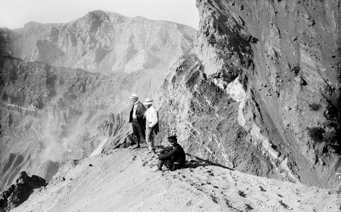 August 2 - The first known ascent of Mount Olympus in Greece is made by Swiss mountaineers Daniel Baud-Bovy and Frédéric Boissonnas guided by Christos Kakkalos.