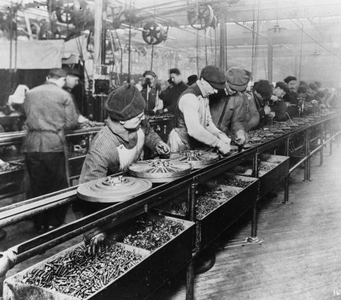 December 1 - The Ford Motor Company introduced the first moving automobile assembly line, reducing chassis assembly time by 80 percent