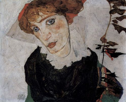 Egon Schiele - Portrait of Wally
