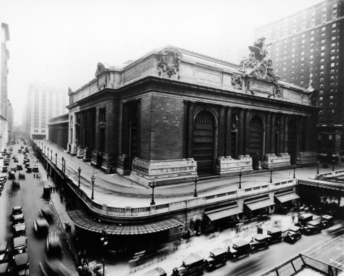 February 2 - Grand Central Station opens in New York