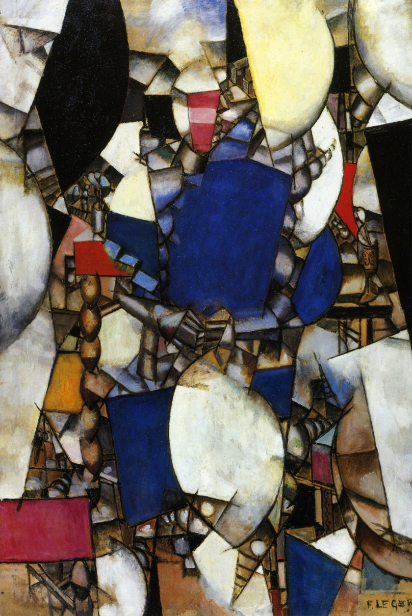 Fernand Léger - Woman In Blue