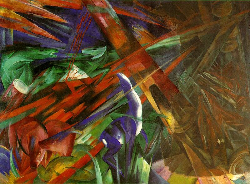 Franz Marc - The Fate of the Animals (Tierschicksale)