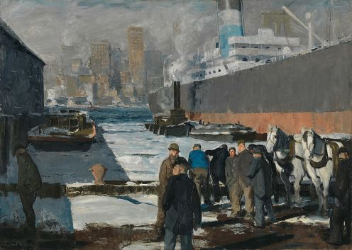 George Bellows – Men of the Docks