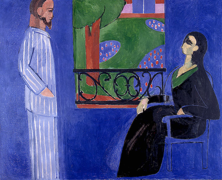Henri Matisse - The Conversation