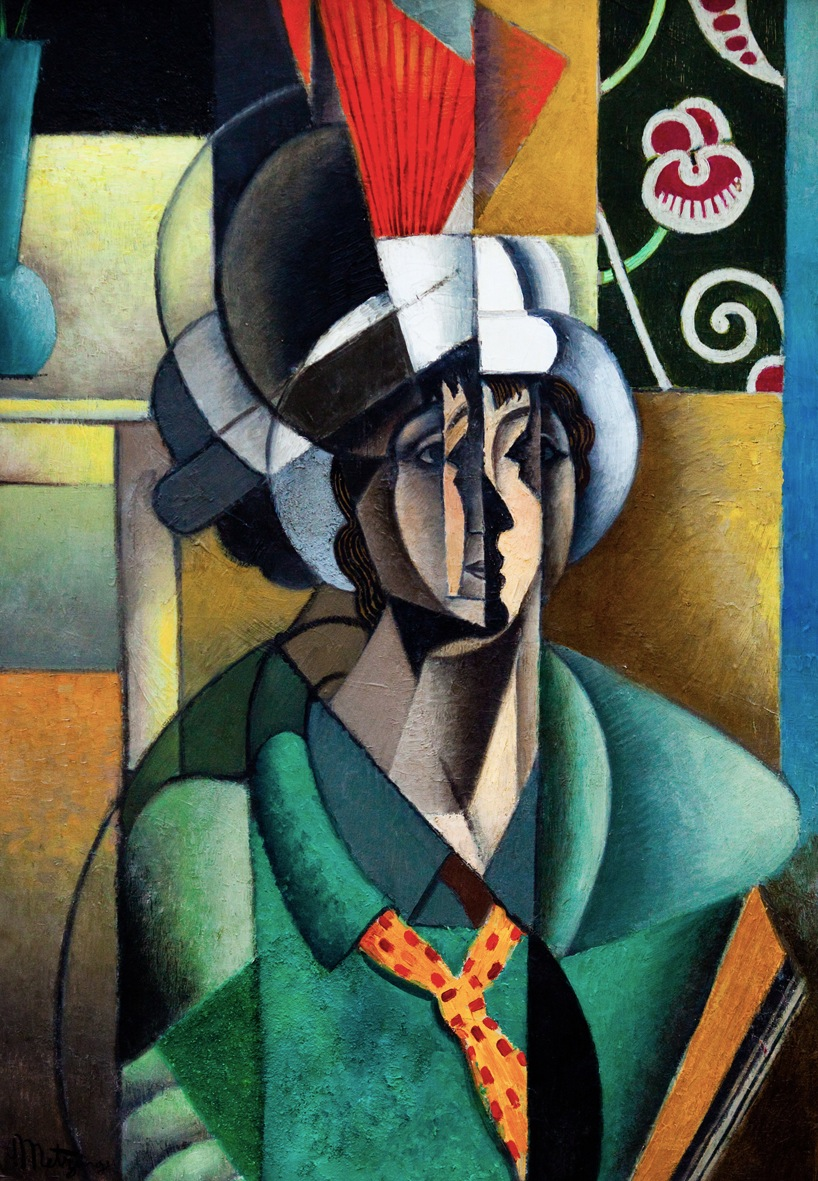 Jean Metzinger - La Femme à l'éventail (Woman with a fan)
