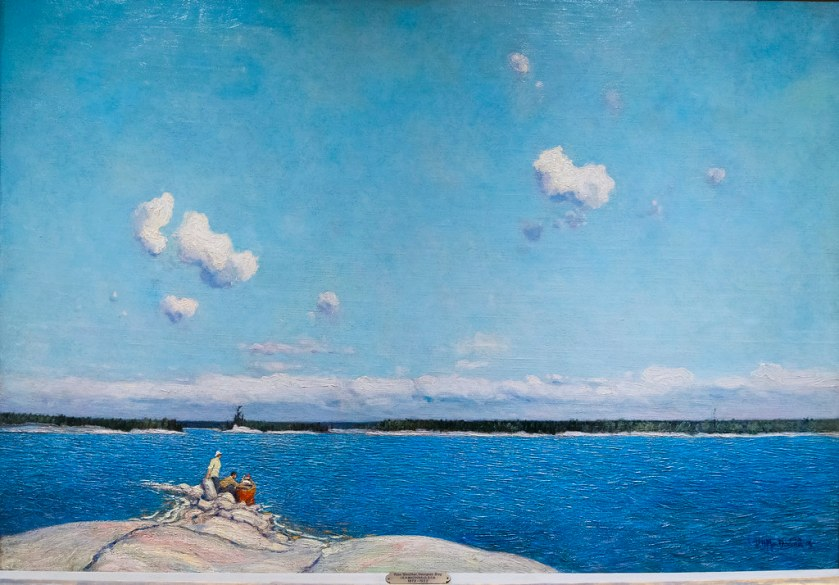 JEH MacDonald - Fine Weather, Georgian Bay