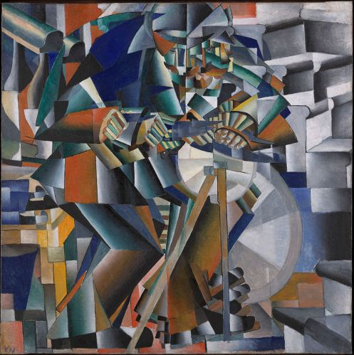 Kazimir Malevich - The Knifegrinder