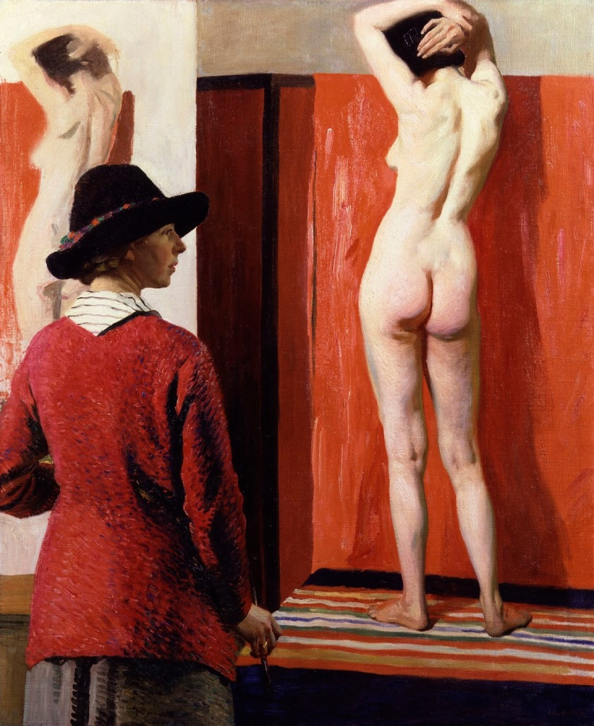 Laura Knight – Self Portrait with Nude