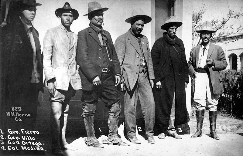 March 26 - The Mexican Revolution begins as Venustiano Carranza and starts a rebellion against Victoriano Huerta's government.