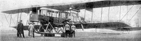 May 26 - Igor Sikorsky introduces the first four-engine airplane, the Russky Vityaz bomber.