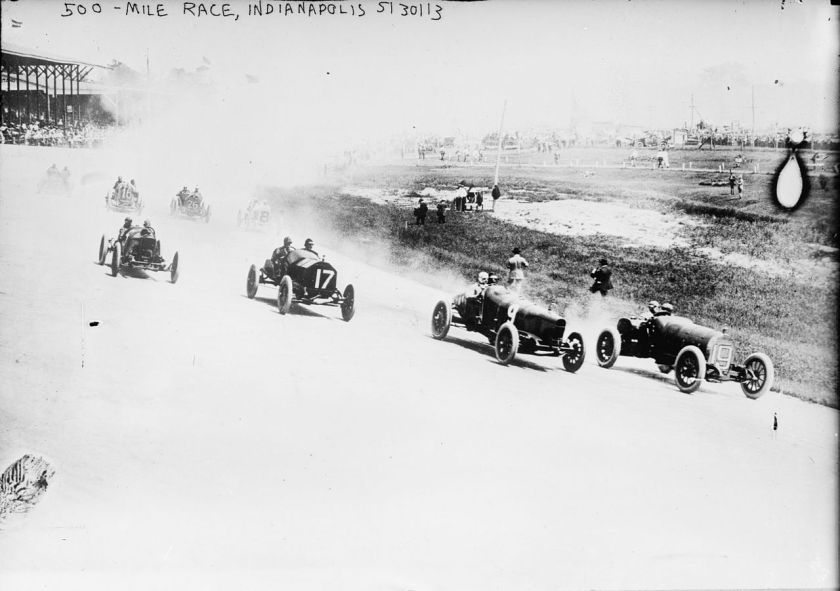 May 30 - Jules Goux wins the third Indianapolis 500