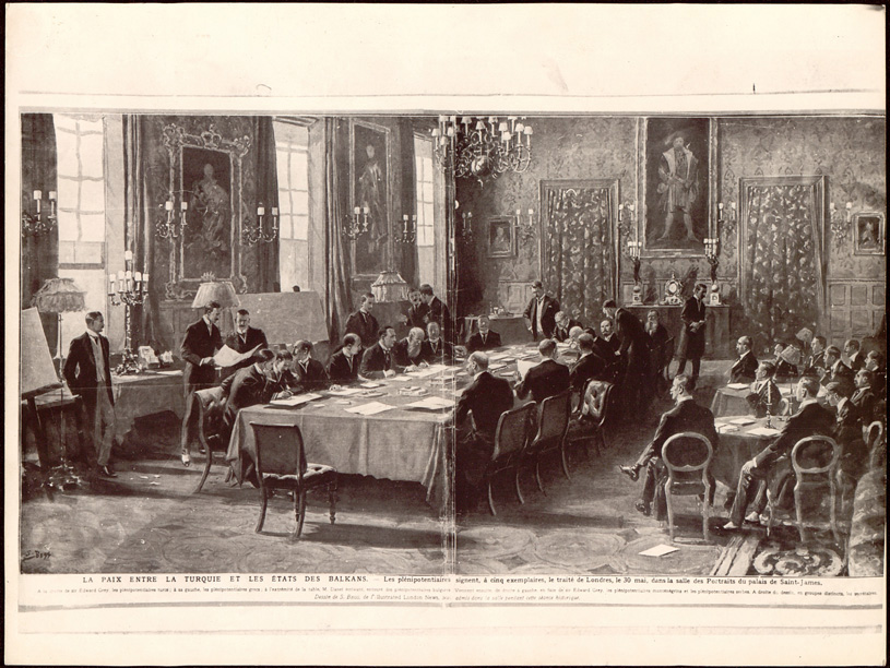 May 30 - The First Balkan War formally ends with the signing of the Treaty of London. The Ottoman Turks cede almost all of their European territories to the Balkan nations.