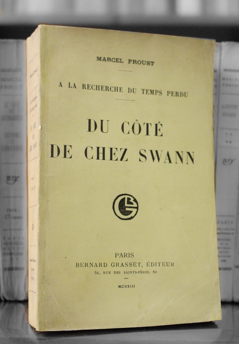 November 14 - The first volume of Marcel Proust's 3,200-page novel 'À la recherche du temps perdu' is published as 'Du côté de chez Swann'