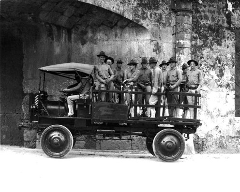 September 15 - The first successful 4-wheel drive vehicle, the Jeffrey Quad, is delivered to the U.S. Army