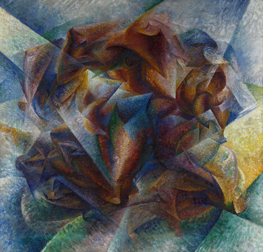 Umberto Boccioni - Dynamism of a Soccer Player