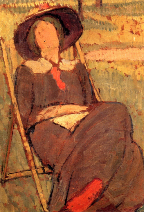 Vanessa Bell - Portrait of Virgina Woolf